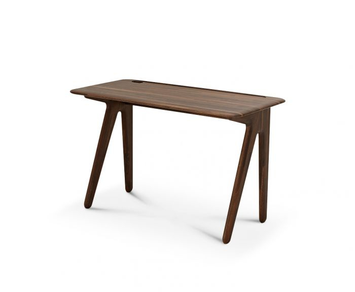 Fumed Oak Dining Tables Inside Well Liked Slab Individual Desk Small Fumed Oak (#6 of 20)