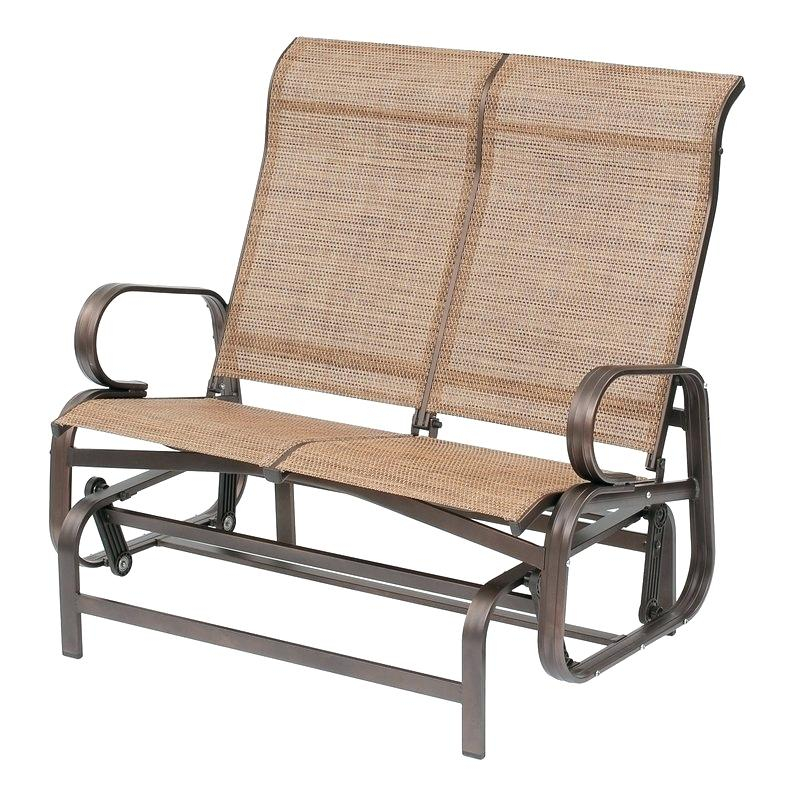 Garden Glider Chair – Ecalendar Throughout Twin Seat Glider Benches (View 8 of 20)