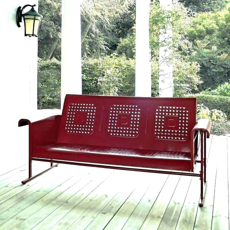 Glider Bench Cushions Outdoor Swing Replacement Patio For Aluminum Glider Benches With Cushion (View 10 of 20)