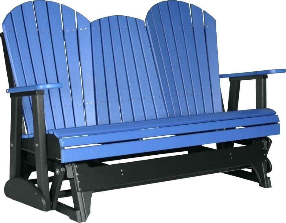 Glider Rocker Outdoor Furniture Sun Modern Rocking Chair Within Twin Seat Glider Benches (View 19 of 20)