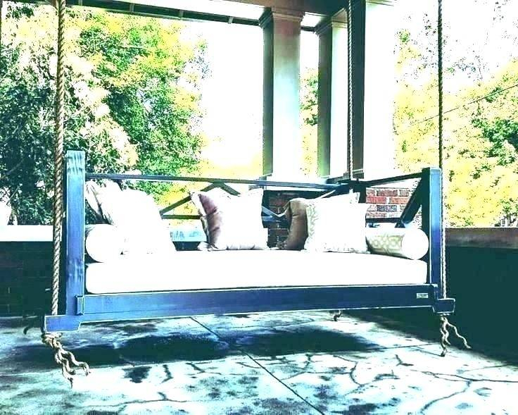 Gorgeous Hanging Daybed Swing Plans Porch Swings Swinging With Regard To Patio Hanging Porch Swings (#4 of 20)