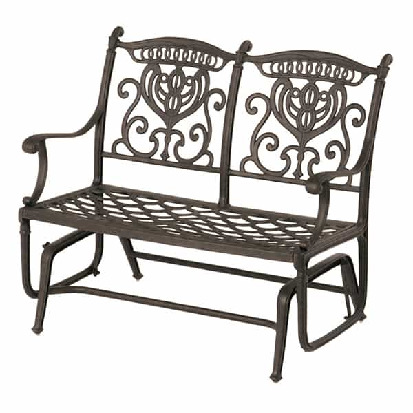 Grand Tuscany Double Glider In Double Glider Benches With Cushion (#9 of 20)