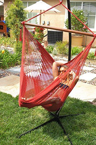 Hammock Chair Hanging Rope Chair Porch Swing | Hammocks And Regarding Cotton Porch Swings (View 12 of 20)