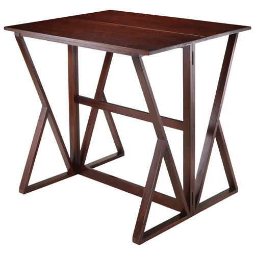 Popular Photo of Transitional 4 Seating Drop Leaf Casual Dining Tables