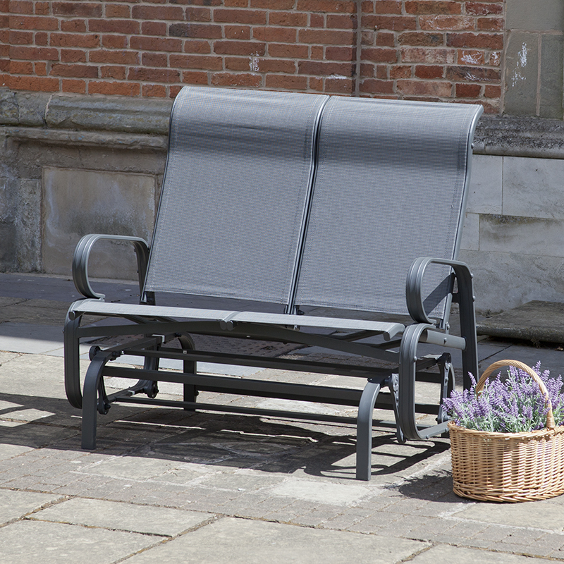 Havana Charcoal Twin Seat Glider – Trans Continental Group Ltd Inside Twin Seat Glider Benches (View 9 of 20)