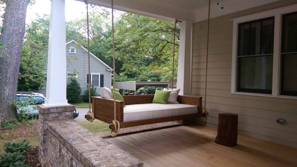 Hayden | Porch Swing, Patio Images, Modern Porch Swings Within Patio Hanging Porch Swings (#8 of 20)