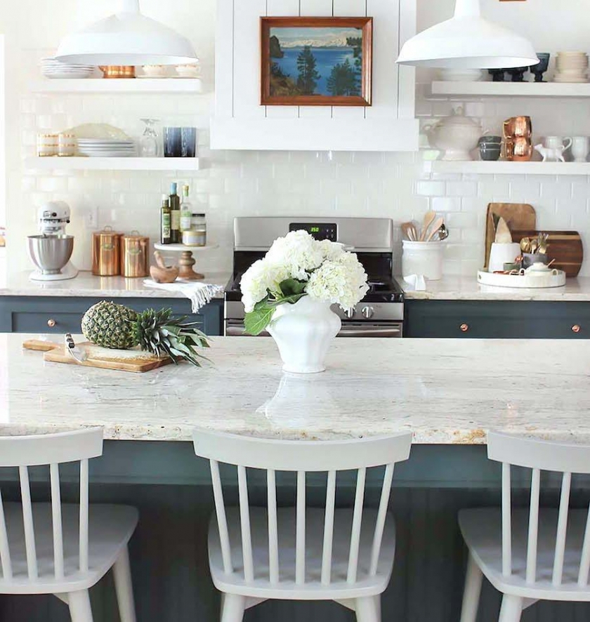 Here's What You Need To Know Before You Install Marble Within Recent Thick White Marble Slab Dining Tables With Weathered Grey Finish (#9 of 20)