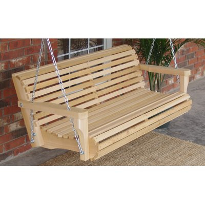 Highland Dunes Himes Contoured Classic Porch Swing | Neubau Pertaining To Contoured Classic Porch Swings (View 2 of 20)