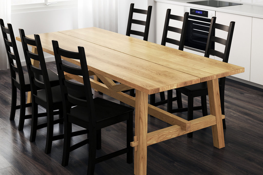 How To Choose The Right Dining Table For Your Home – The New For Most Current Rustic Mid Century Modern 6 Seating Dining Tables In White And Natural Wood (#5 of 20)