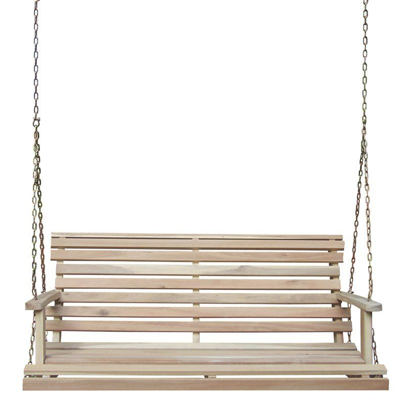 Inspiration about International Concepts 4 Ft. Swing With Chain – Sw 5394 With Regard To Porch Swings With Chain (#19 of 20)