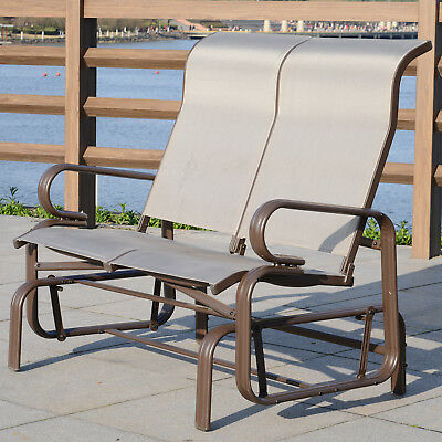 Inspiration about Ivy Bronx Maryanne Folding Resin Wicker Patio Chair Set Of 2 For Aluminum Outdoor Double Glider Benches (#13 of 20)