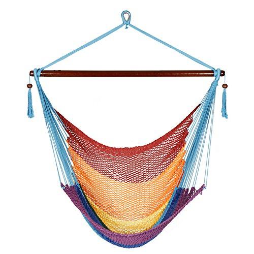 Joo Life Hanging Rope Hammock Chair Max (View 20 of 20)