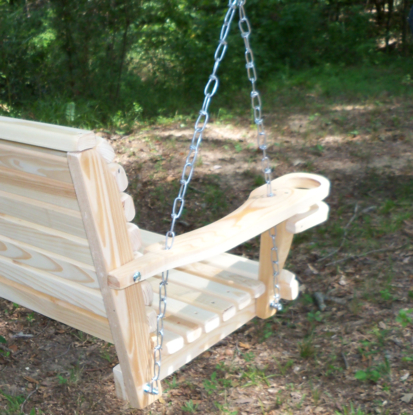 Inspiration about La Swings Inc 5Ft Cypress Classic Porch Swing – Lead Time 5 7 Business Days With Regard To Porch Swings (#14 of 20)