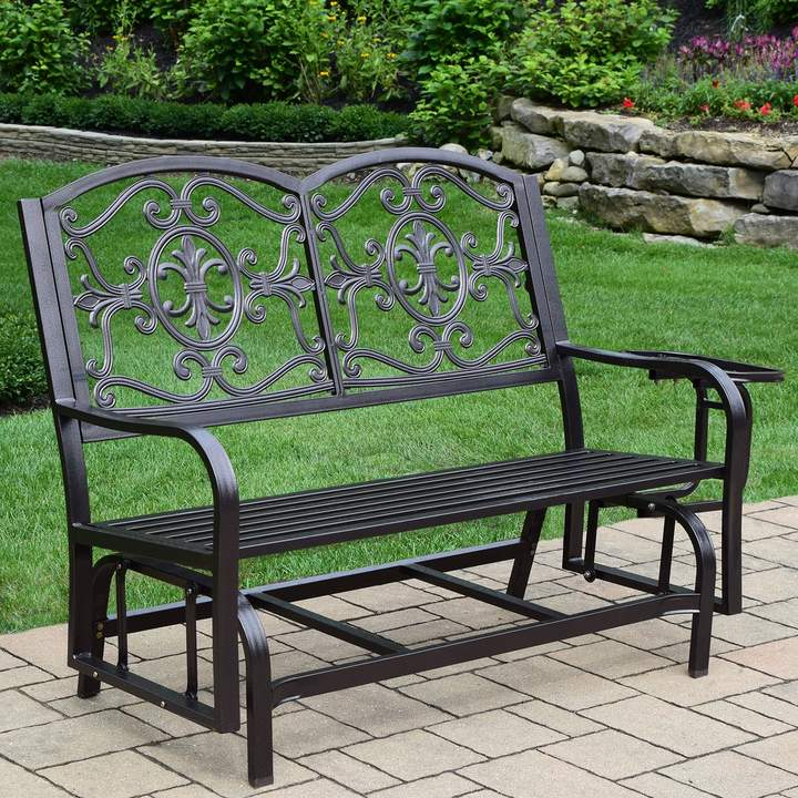 Lakeville Outdoor Double Glider For Indoor/outdoor Double Glider Benches (View 6 of 20)