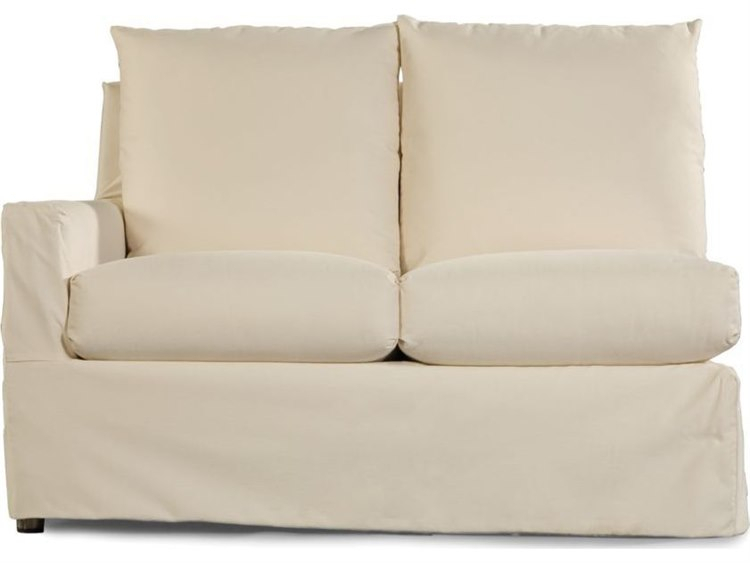 Lane Venture Elena Fabric Cushion Left Arm Loveseat In Padded Sling Loveseats With Cushions (#5 of 20)