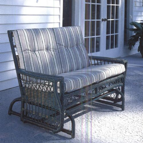 Inspiration about Lane Venture Replacement Cushions – Loveseat Glider Pertaining To Loveseat Glider Benches With Cushions (#17 of 21)