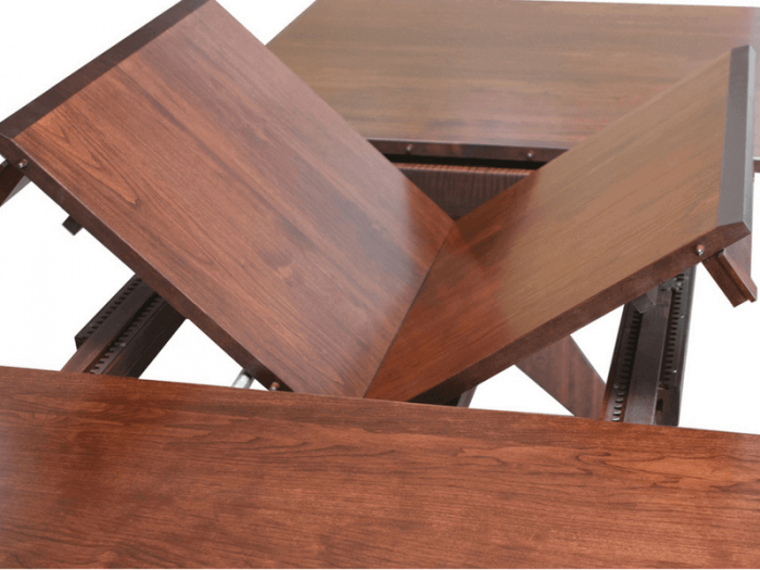 Large Dining Tables With Leaves In Fashionable Wood Kitchen Dining Tables With Removable Center Leaf (View 20 of 20)
