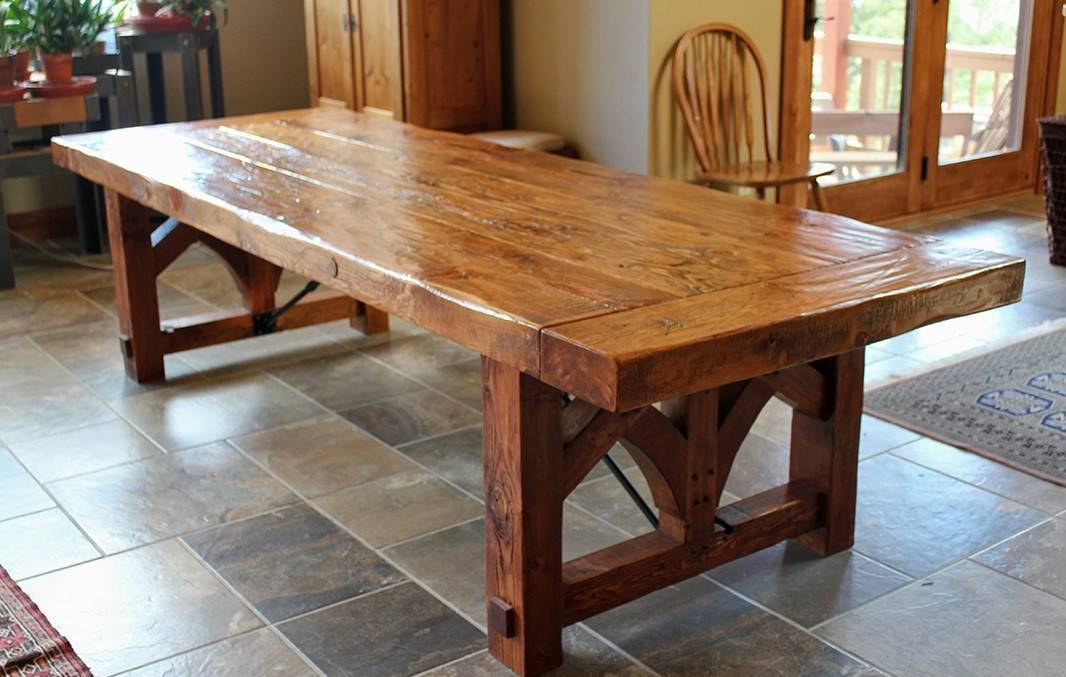 Inspiration about Large Luxury Round Dining Table Unique Room Tables Design Pertaining To Most Recently Released Large Rustic Look Dining Tables (#5 of 20)