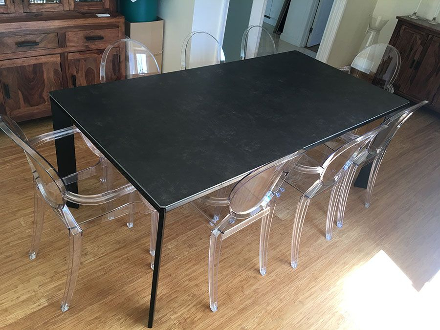 Large Urban Extendable Ceramic Top Dining Table (#9 of 20)