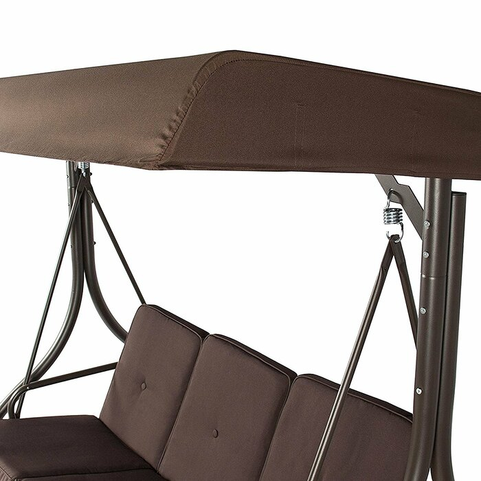 Inspiration about Lasalle Canopy Patio Porch Swing With Stand Intended For Canopy Patio Porch Swing With Stand (#4 of 20)