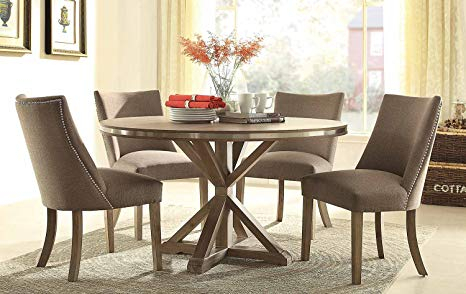 Inspiration about Latest Coaster Contemporary 6 Seating Rectangular Casual Dining Tables With Regard To Contemporary Dining Table Sets Desire Amazon Com (#4 of 20)