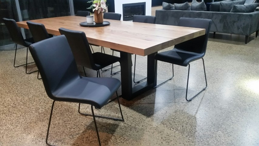 Latest Dining Tables, Chairs, Stools & Bar Chairs With Regard To Dining Tables With Black U Legs (View 12 of 20)