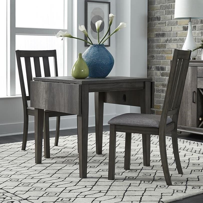 Latest Transitional 3 Piece Drop Leaf Casual Dining Tables Set Inside Tanners Creek 3 Piece Drop Leaf Set (View 15 of 20)