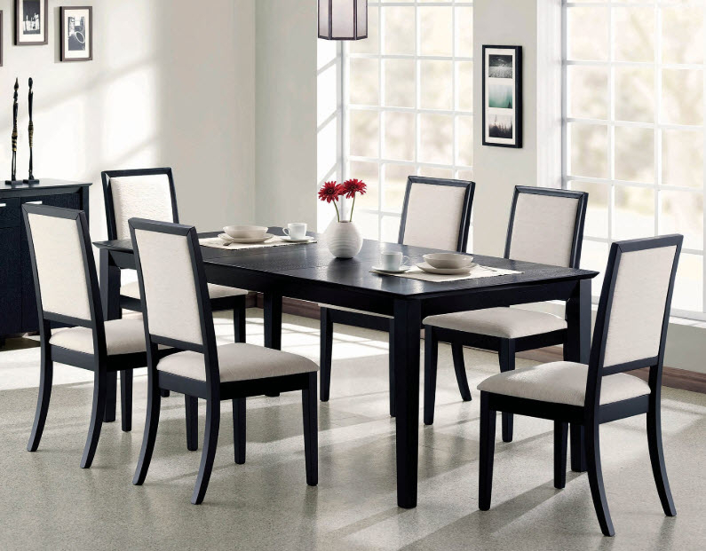 Popular Photo of Transitional Rectangular Dining Tables