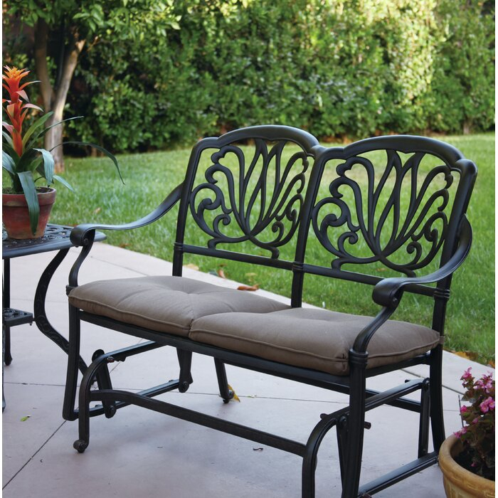 Inspiration about Lebanon Glider Bench With Cushions In Glider Benches With Cushions (#11 of 20)