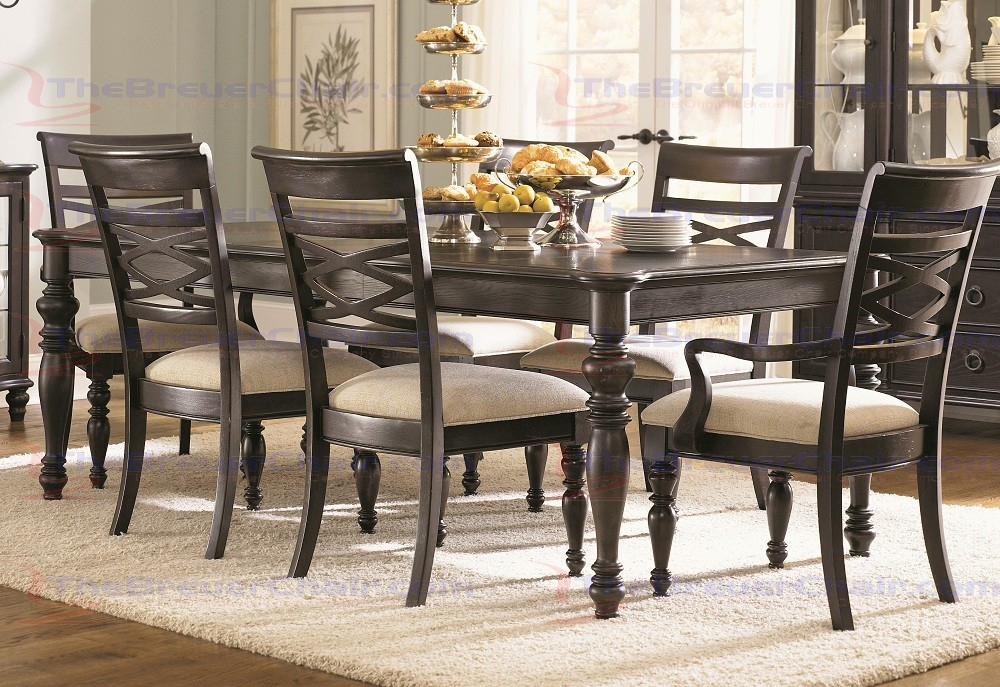 Inspiration about Legacy Classic Furniture Glen Cove Rectangular Leg Dining Table In Espresso  – 1521 222 Within 2020 Espresso Finish Wood Classic Design Dining Tables (#9 of 20)
