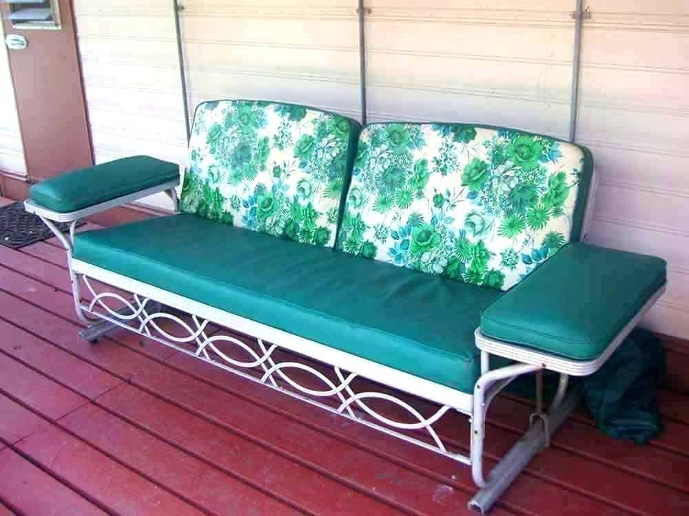 Inspiration about Likable Outdoor Sofa And Chair Cushions Furniture Surprising Inside Glider Benches With Cushion (#17 of 20)