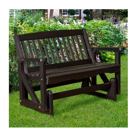 """Inspiration about Little Cottage Co. Classic Mission 48"""" Bench Glider (Lcc 207) Throughout Classic Glider Benches (#18 of 20)"""