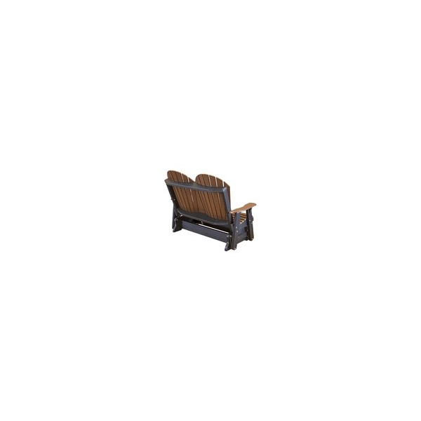 Inspiration about Little Cottage – Heritage 2 Seat Patio Fan Back Glider (Lcc 104) Throughout Fanback Glider Benches (#17 of 20)