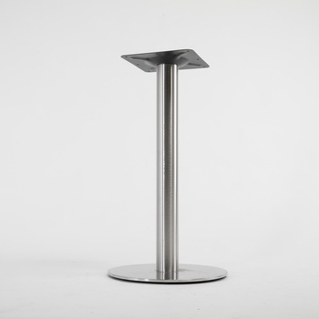 """Long Dining Tables With Polished Black Stainless Steel Base Intended For Newest Furniture Ss201 28"""" Round Polished Stainless Steel Standard Height Dining  Table Base – Buy Stainless Steel Table Base,stainless Steel Pedestal Table (#10 of 20)"""