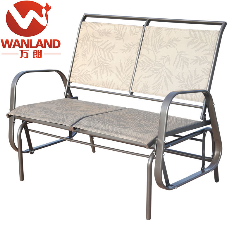Inspiration about Loveseat Glider Bench Schaukelstuhl Im Freien,patio Porch Swing – Buy  Segelflugzeug Bank,segelschaukelstuhl,segelflugzeug Rocker Product On Regarding Outdoor Steel Patio Swing Glider Benches (#13 of 20)