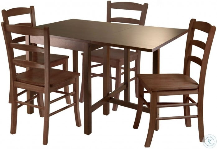 Inspiration about Lynden Walnut Drop Leaf Extendable Dining Table With Regard To Well Known Transitional Antique Walnut Drop Leaf Casual Dining Tables (#9 of 20)