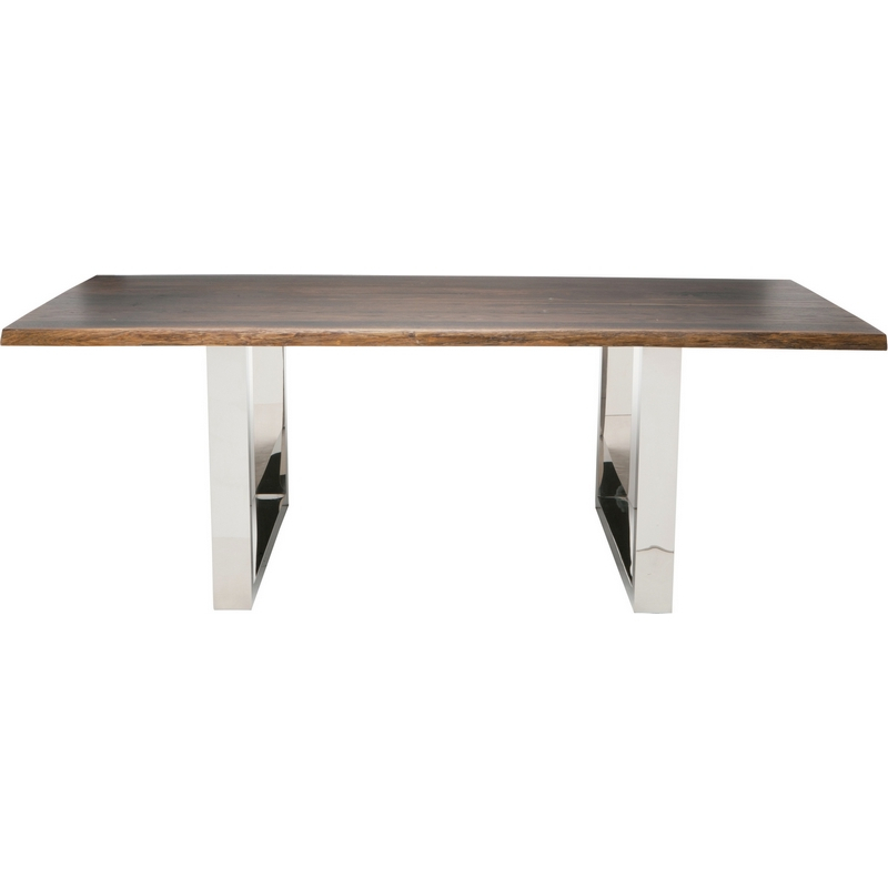 """Inspiration about Lyon 75"""" Dining Table In Seared Oaknuevo Modern Furniture In Well Liked Dining Tables In Seared Oak (#19 of 20)"""