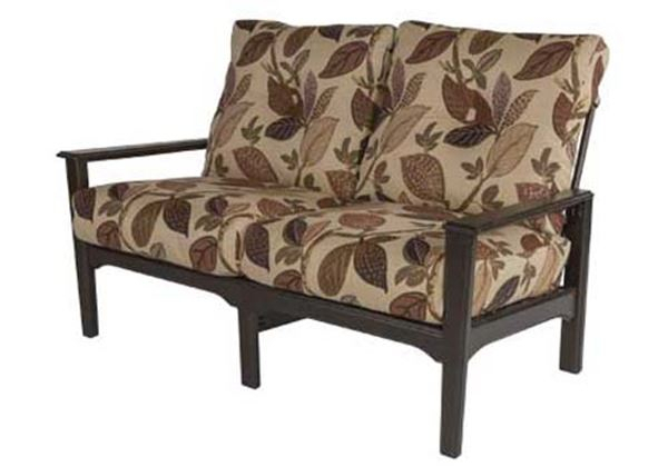 Marine Grade Polymer, Deep Seat Cushion Loveseat, Cape Code Collection, 60  Lbs (#9 of 20)
