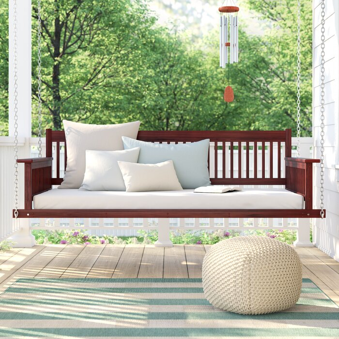 Marisela Day Bed Porch Swing Within Day Bed Porch Swings (#14 of 20)