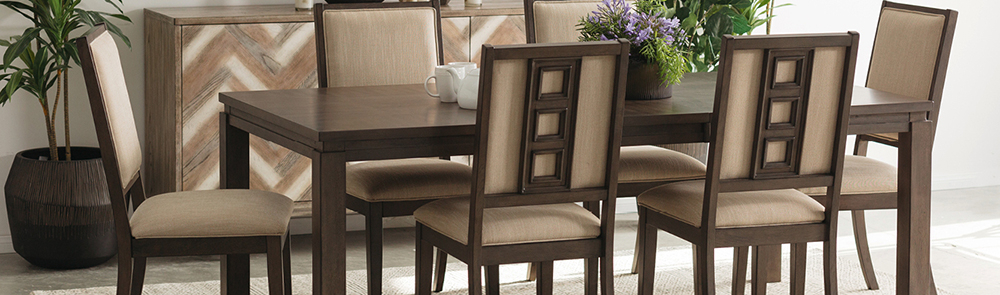 Mathis Brothers With Regard To Transitional Antique Walnut Square Casual Dining Tables (View 9 of 20)