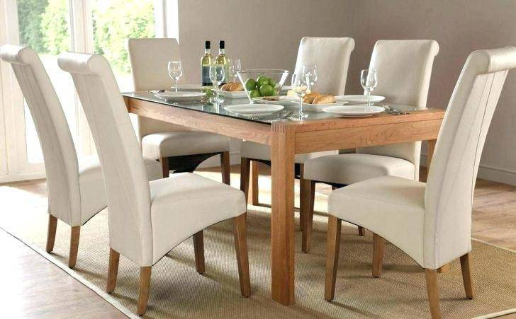 Medium Elegant Dining Tables In Fashionable Modern Oak Dining Table Sets Contemporary And Chairs Room (#10 of 20)