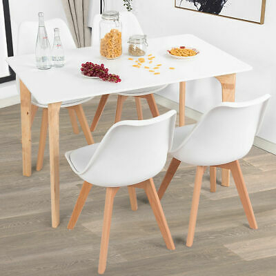 """Mid Century Rectangular Top Dining Tables With Wood Legs For Trendy Mid Century Modern Dining Table Rectangular Top 47.5"""" X (View 9 of 20)"""