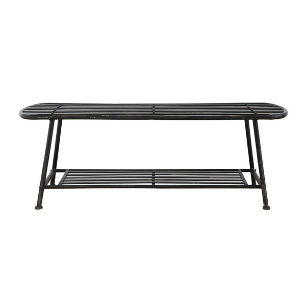 Modern & Contemporary Slat Bench | Allmodern With Iron Grove Slatted Glider Benches (View 10 of 20)