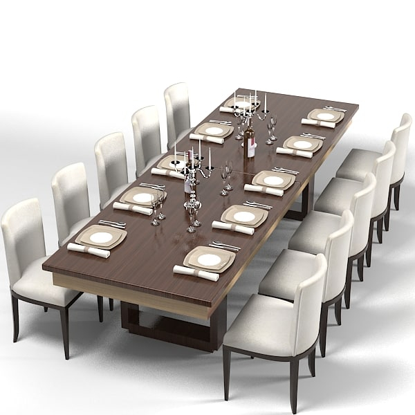 Modern Dining Table Contemporary Rectangular Set Chair Pertaining To Most Recently Released Contemporary Rectangular Dining Tables (View 3 of 20)