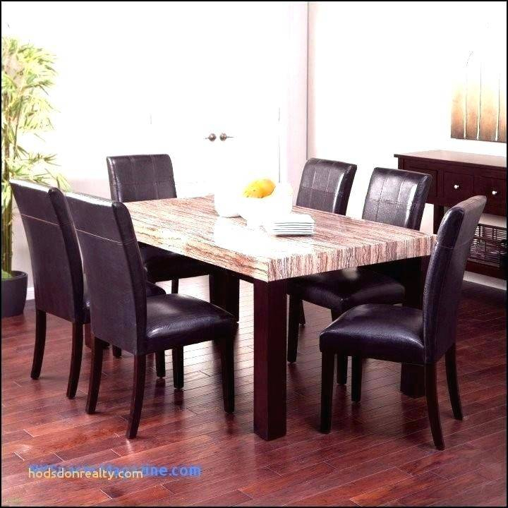 Modern Dining Table Set For Round Small Glass Two Square Pertaining To Best And Newest Small Rustic Look Dining Tables (View 13 of 20)