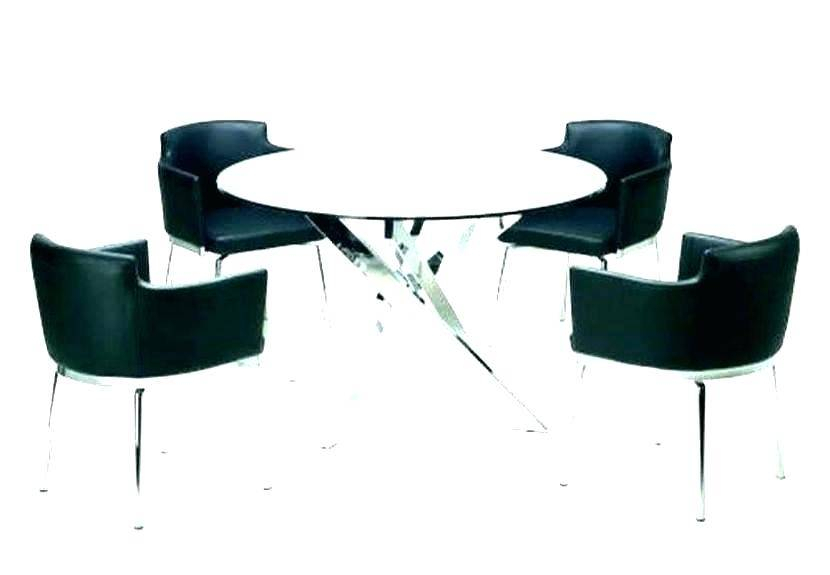 Modern Round Glass Top Dining Tables Throughout Most Recently Released Surprising Modern Round Glass Top Dining Table Tempered Mid (#7 of 20)