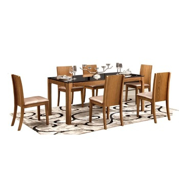 Popular Photo of 6 Seater Retangular Wood Contemporary Dining Tables