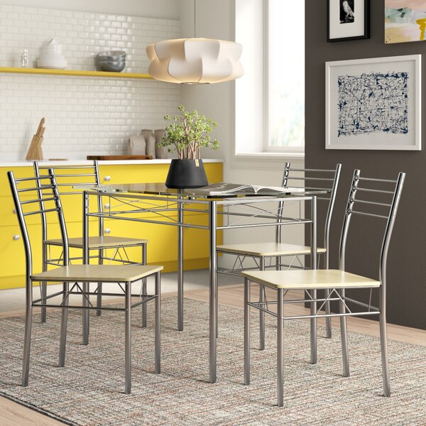 Most Current Charcoal Transitional 6 Seating Rectangular Dining Tables With Charcoal Dining Table Set (#10 of 20)