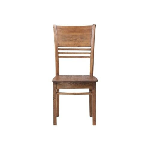 Most Current Country Dining Chair 19*21*39 Pine Wood/ Finish Weathered Pine Inside Country Dining Tables With Weathered Pine Finish (#16 of 20)