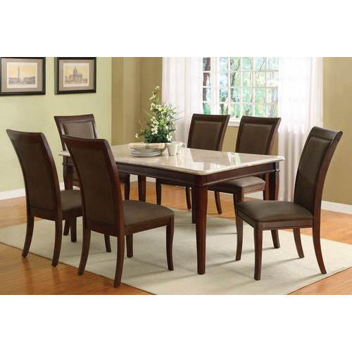 Most Current Granite Top Dining Table Intended For Wood Top Dining Tables (#6 of 20)